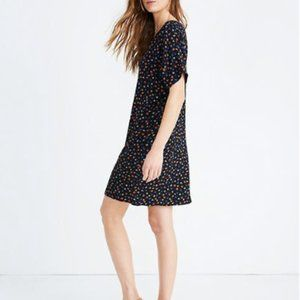 Madewell XS Button Front Easy Dress Prairie Posies